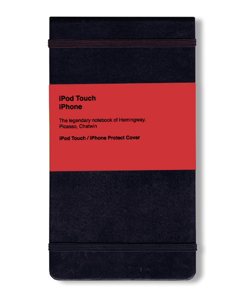 iPhone/iPod Touch Moleskine Cover