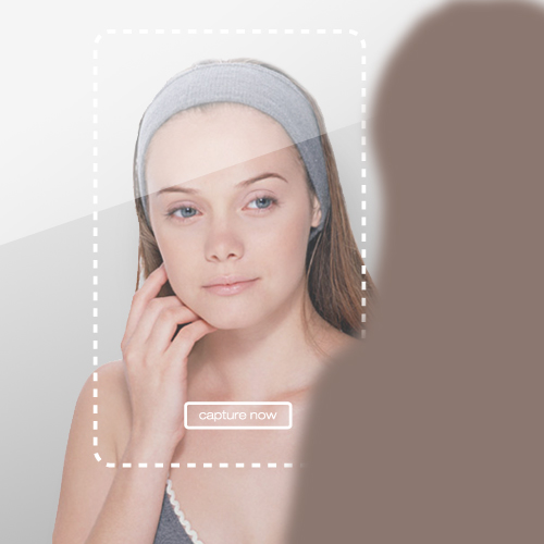 touch screen mirror with image capture