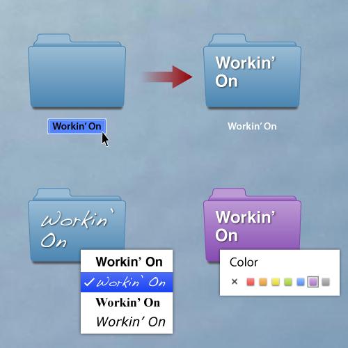 mac os folderactions