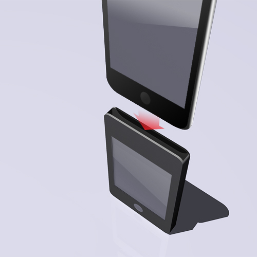 ipod touch case with controller1_petitinvention