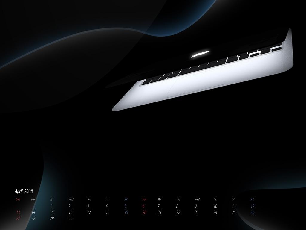 Macbook Wallpaper Calendar : Desktop calendar wallpaper april macbook air petitinvention