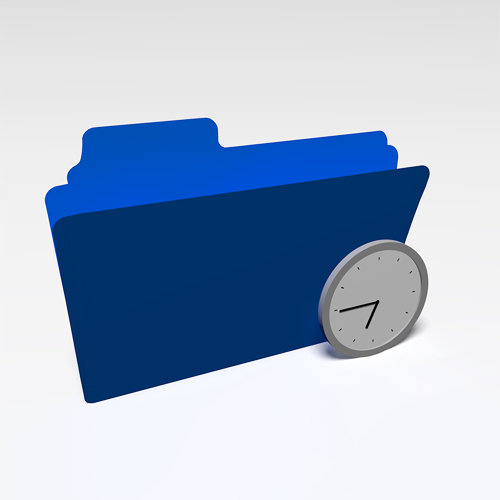 folder icon that talks