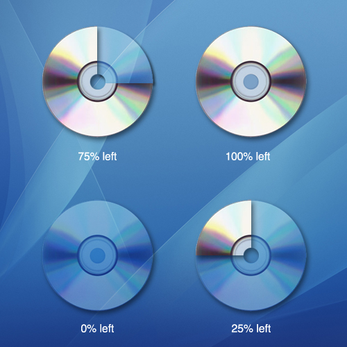 visualized remained room in DVD