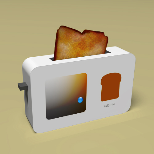 Pantone Toaster on Roll And Color