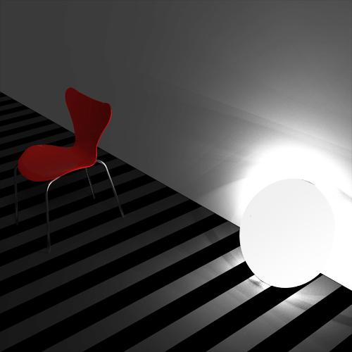 Solar Battery + Room Lamp