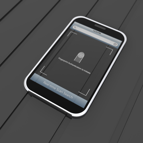 iPhone with Looking Glass