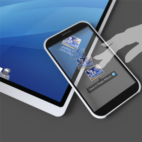 Looking Glass for iPhone | petitinvention