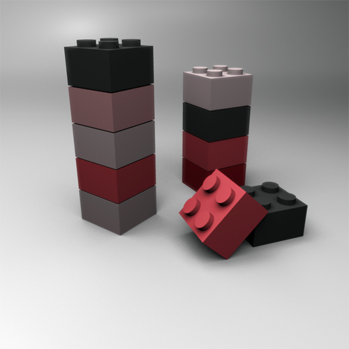color changing lego blocks