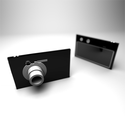 Camera that digitally erases people
