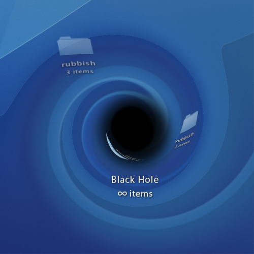 Black Hole on Desktop