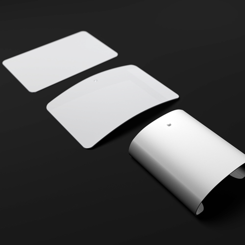 Flexible trackpad turns mouse