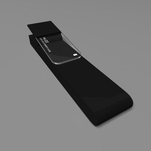 pen-like folded phone?