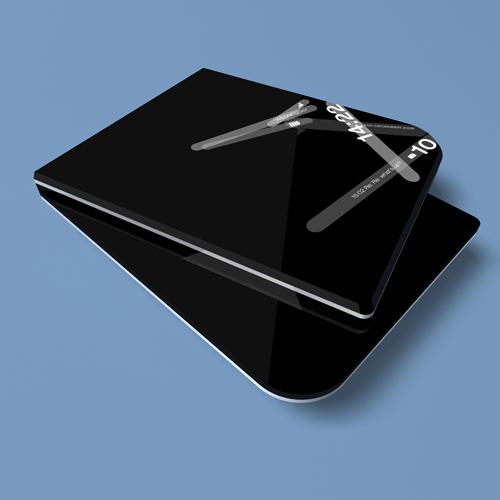 slanted fold phone?
