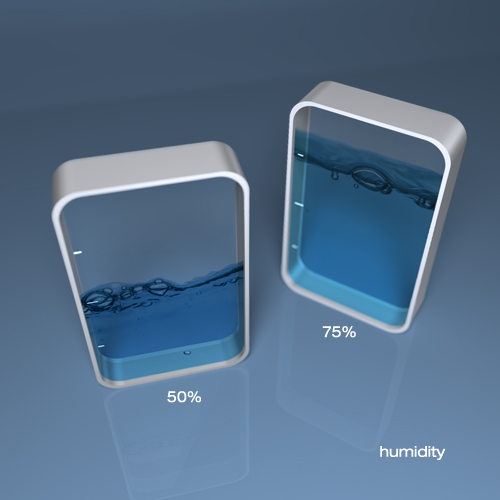 Interactive hygrometer
