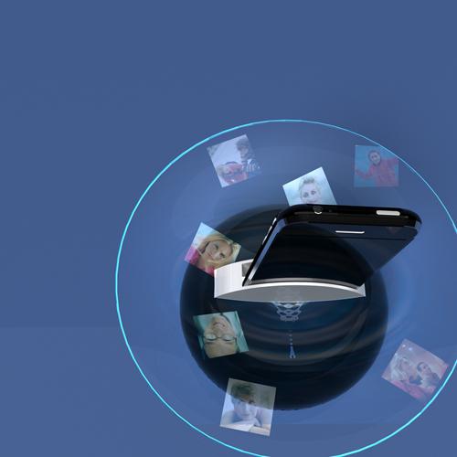 iAcqua- iPhone speaker, visualizer, projector