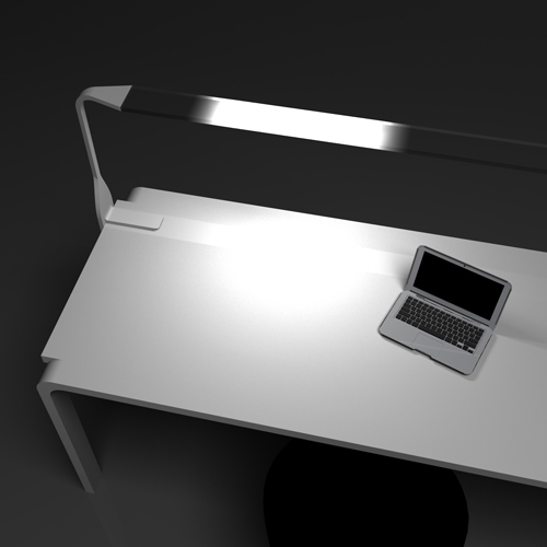UI concept for desk lamp