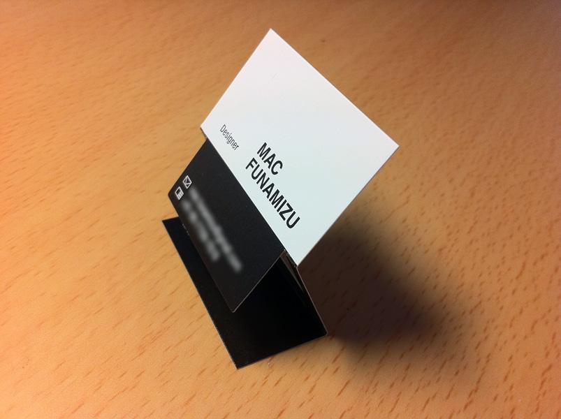 My business card design mac funamizu design blog if reheart Image collections